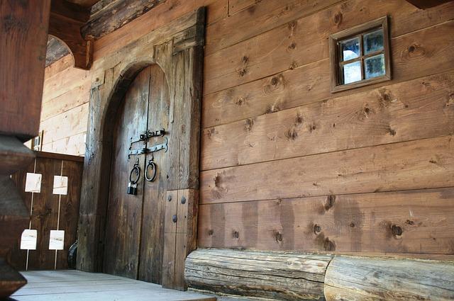 dům ze dřeva